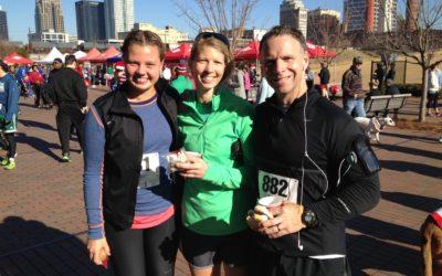 Go Campus programmerne - Sofie til løb