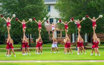 College i USA - Frederikke Troy University cheerleading