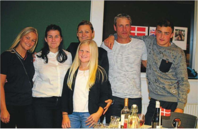 Værtsfamilie Pedersen