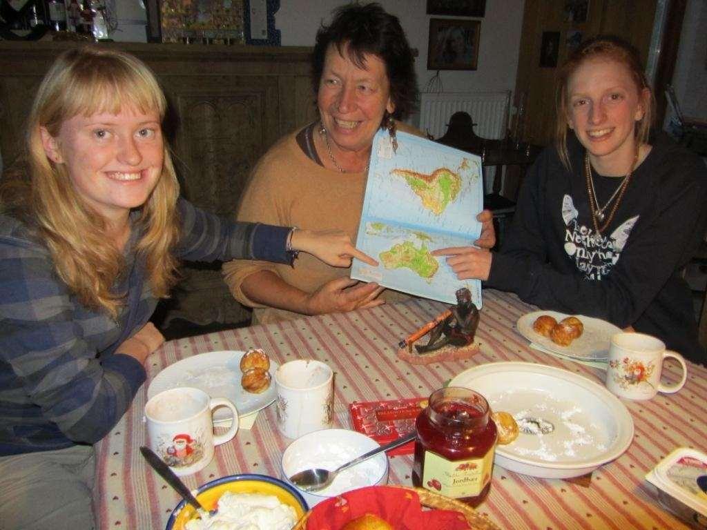 Værtsfamilie i Danmark