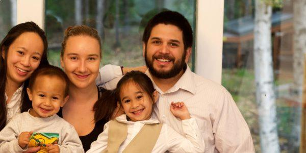 Au Pair i USA - Amanda med værtsfamilie
