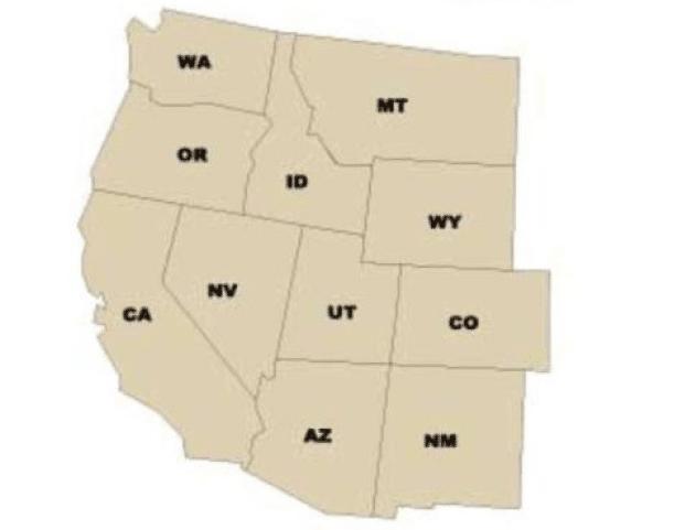 Tag på High School i USA på den Amerikanske vestkyst