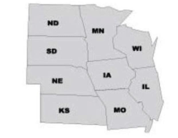 Den centrale del af USA er et godt valg som Amerikansk High School