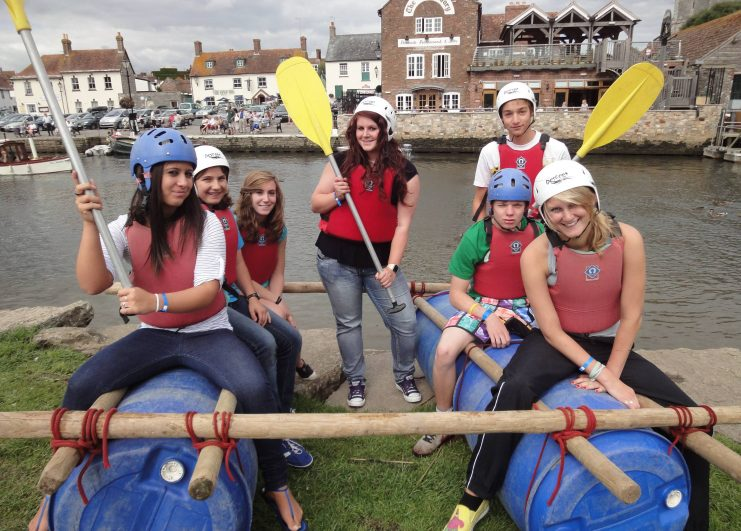 High resolution-Junior Raft Building